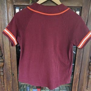 Tops - 5 for $15! Virginia tech baseball shirt